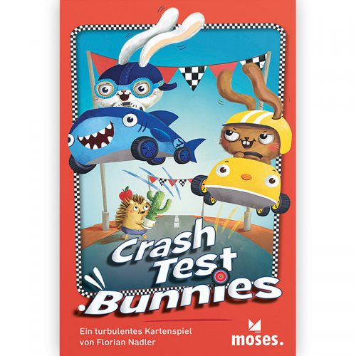 Crash Test Bunnies Schachtelcover