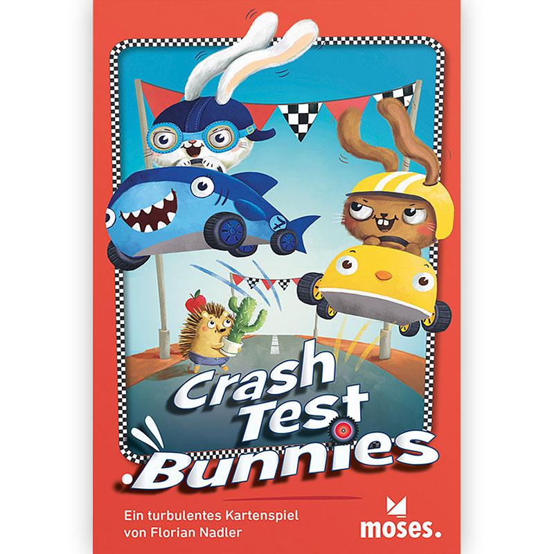 Crash Test Bunnies Schachtelcover