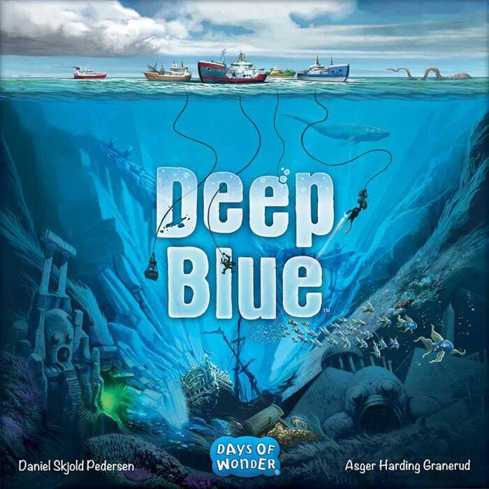 Deep Blue Schachtelvorderseite
