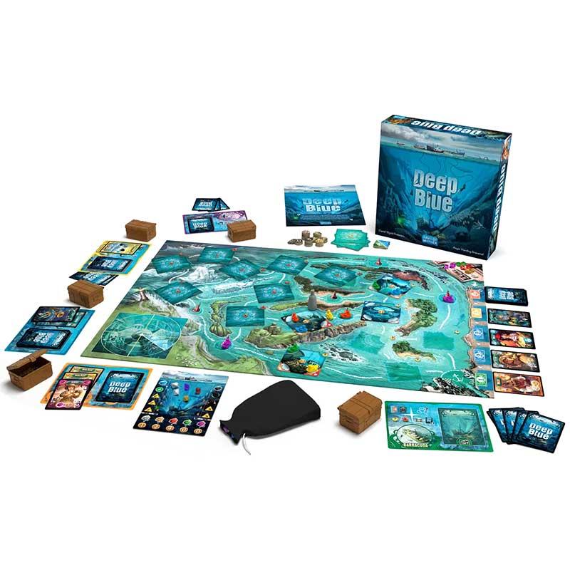 Deep Blue Spielaufbau