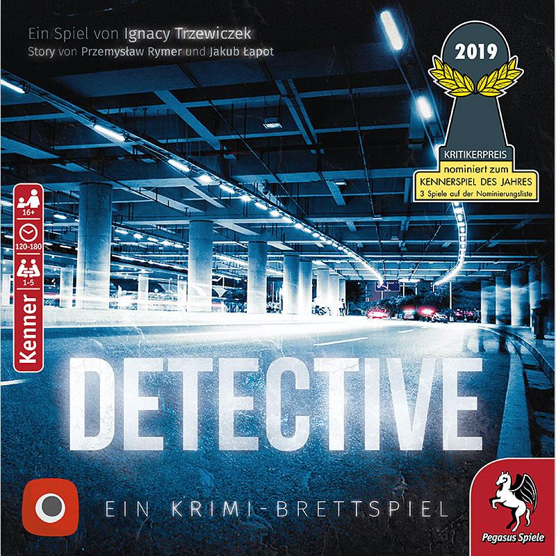 Detective Schachtelcover