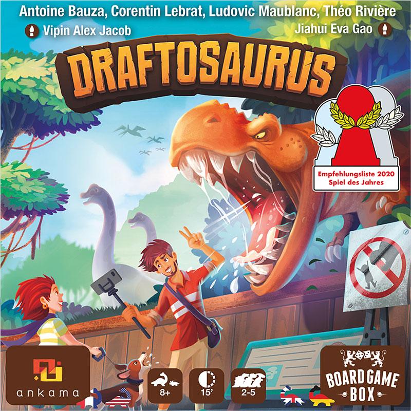 Draftosaurus Schachtelvorderseite