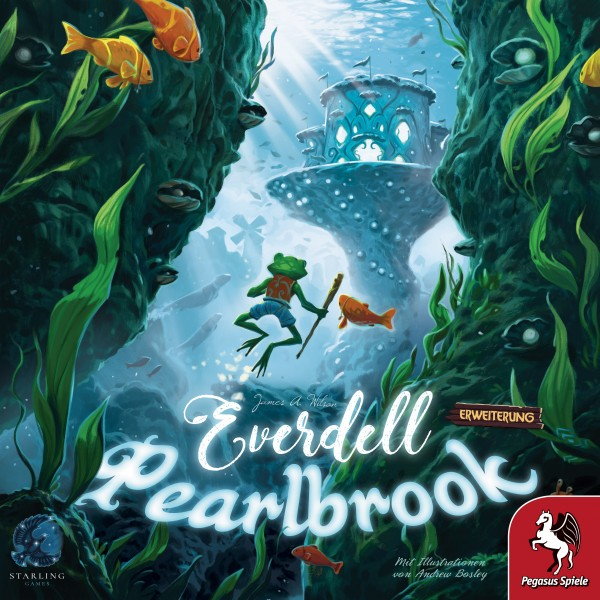 Everdell: Pearlbrook Schachtelvorderseite