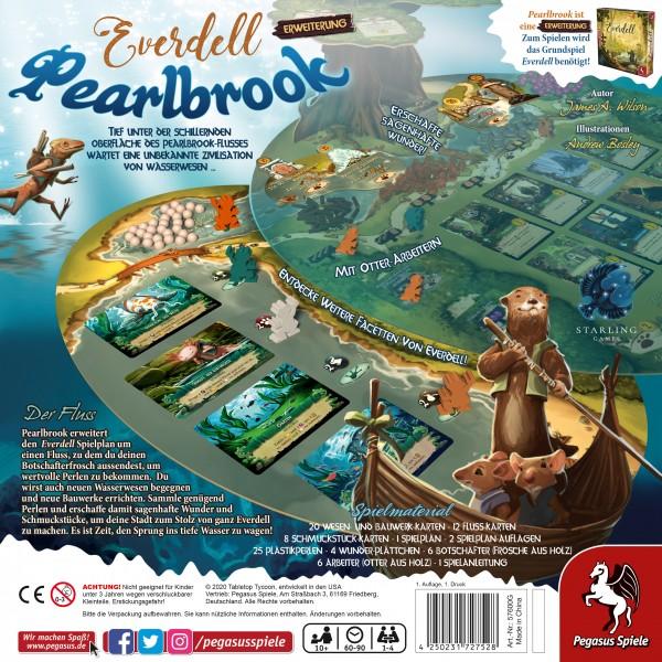 Everdell: Pearlbrook Schachtelrückseite