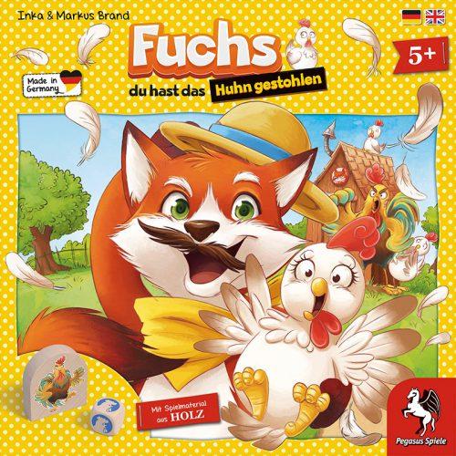 Fuchs du hast das Huhn gestohlen Schachtelcover