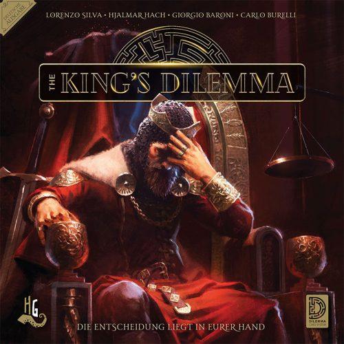 King's Dilemma Vorderseite Schachtel