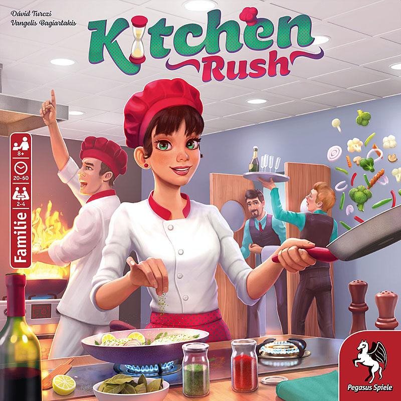 Kitchen Rush Schachtel Vorderseite