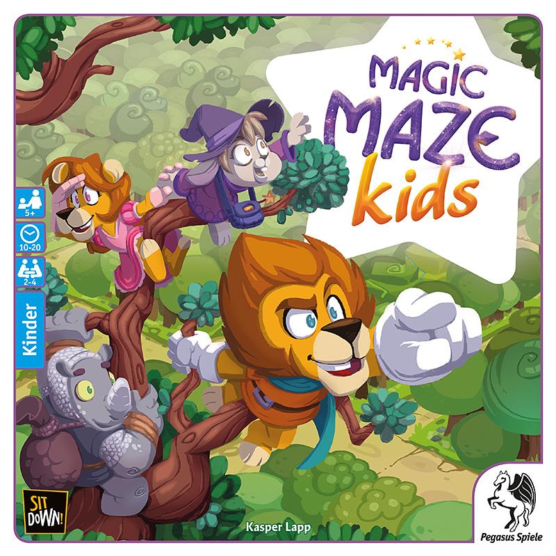 Schachtel von Magic Maze Kids