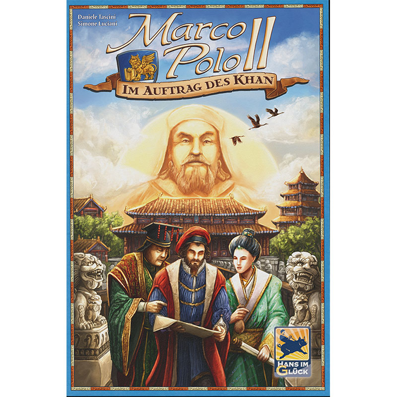 Marco Polo II Schachtelcover