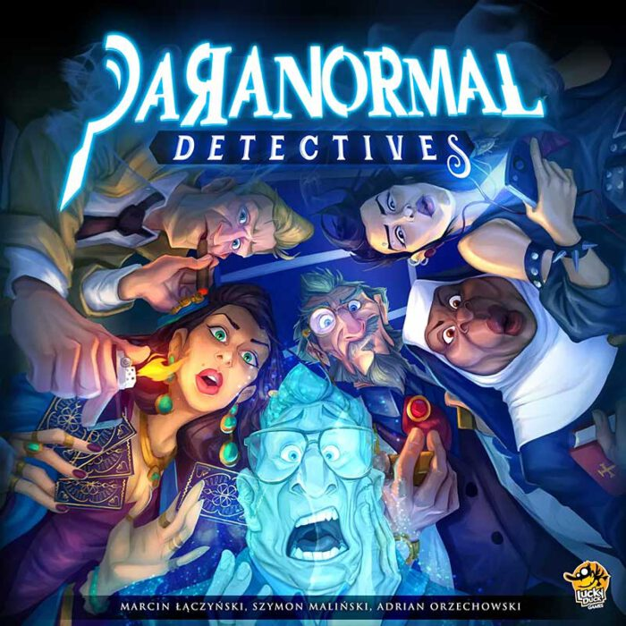 Paranormal Detectives Schachtelcover