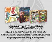 Pegasus-Spiele-Tage im Herbst 2019