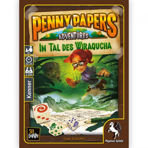 Im Tal des Wiraqucha (Penny Papers Adventures)