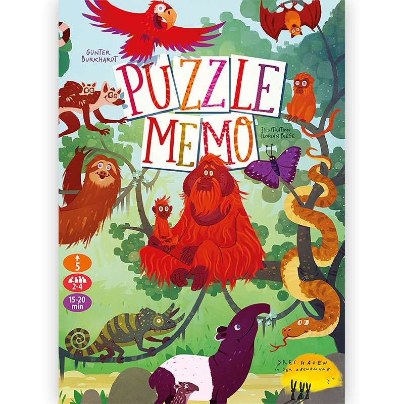 Puzzle Memo Schachtelcover