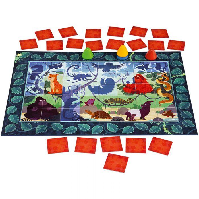 Puzzle Memo Spielaufbau
