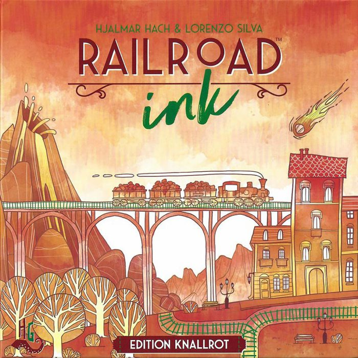 Railroad Ink Knallrot