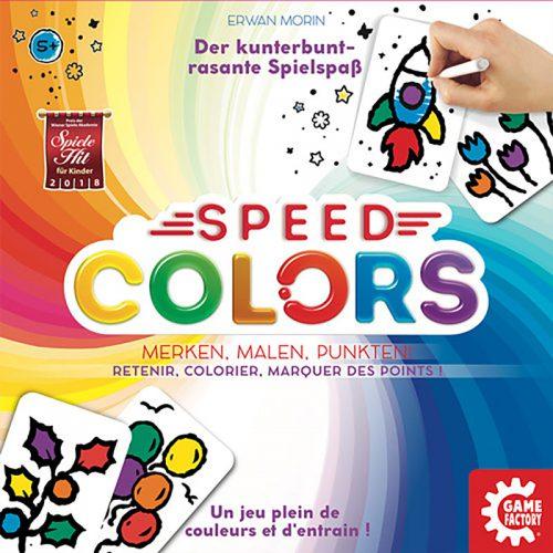 Speed Colors Schachtelcover