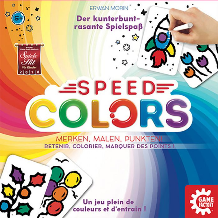 Speed Colors Schachtelcover