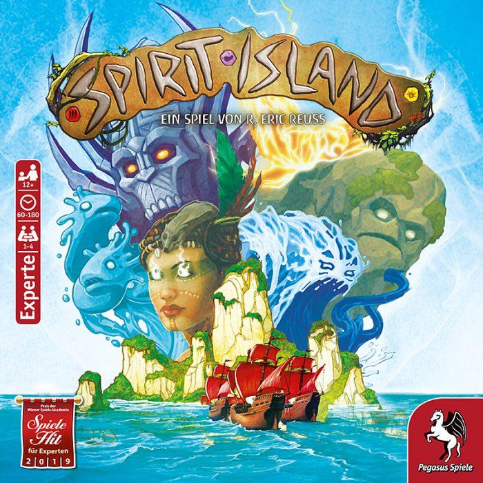 Spirit Island Schachtel Vorderseite