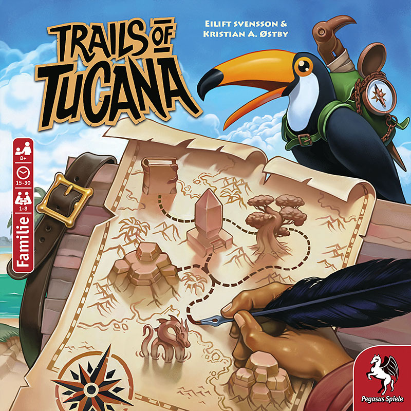 Trails of Tucana Schachtelcover