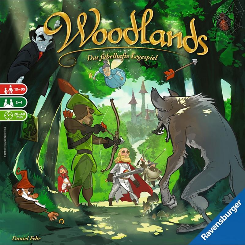 Spielcover von Woodlands